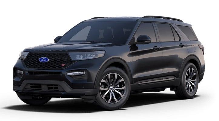 Black Ford Explorer >> 2020 Ford Explorer St